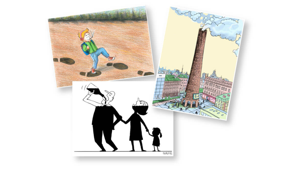 The Winners of The International Green Cartoon Contest Received their Awards